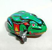 Windup Metal Jumping Frog