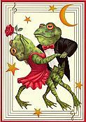 Frog Tango Anniversary Card