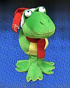 Christmas Musical Frog