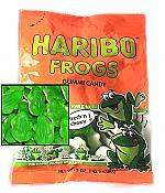 Haribo Gummi Frog Candy