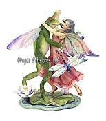 Bergsma Frogs: Dancing Frog & Fairy