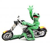 Kitty's Critters Frog: Born To Ride