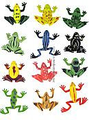 Mini Frogs - Assorted Colors & Styles