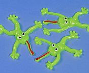 Whimsical Sticky Stretchy Frogs (12)