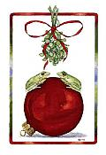 Kisses and Mistletoe Holiday Cards, Box/10