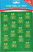 Fully Rely on God Frog Stickers (90)