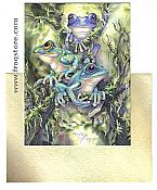 Bergsma: Frog Wild Birthday Card