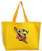 Yellow Frog Beach Tote