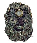 Decorative Frog Doorbell or Peephole Cover