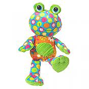 Cuddly Pizzazz Plush Footloose Frog