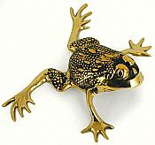 Decorative Brass Frog