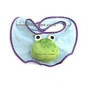 Baby Buddies Frog Bib