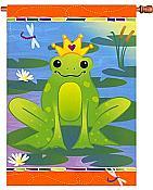 Prince Charming Frog House Flag