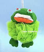 Frog Bath Pal Scrubby