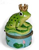 Frog Prince on Lilypad Box