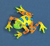 """Rain Forest"" Large Glass Frog"