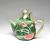 Alfrogo Frog Teapot