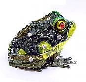 Yellow Throated Frog Jewel Box