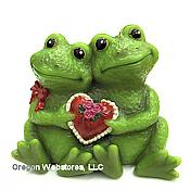 Sweetheart Frog Couple Candle