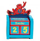 Peace Frogs: Love-Peace Perpetual Calendar