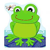 Funky Frog Shaped Notepad