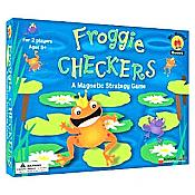 Froggie Magnetic Checkers Game