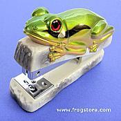 Green Frog Stapler