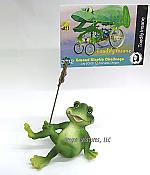 Reclining Frog Note Holder