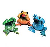 Kitty's Critters Frogs: No Evil (set of 3)