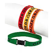 F.R.O.G Fully Rely On God Friendship Bracelets (pk/12)