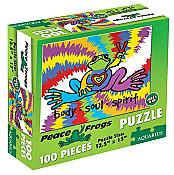 Peace Frogs 100-pc Puzzle