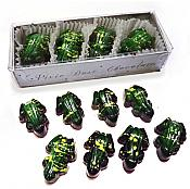 Boxed Dark Chocolate Frogs, pk/8