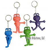 Bendy Frog Keychains (12)
