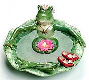Frogalina Frog Floating Candle Bath