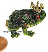 Spotted Frog Prince Jewel Box