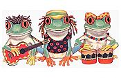 Reggae Frog Band T-Shirt