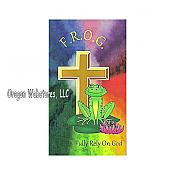 F.R.O.G. Fully Rely On God Pocket Cards (10)