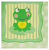 Froggy Frog Large Napkins, pk/16