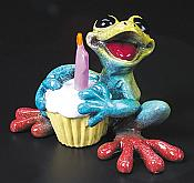 Kitty's Critters Frog: Happy Birthday