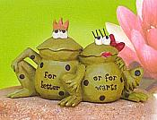 For Better or for Warts Mini Frog Figurine
