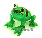 Inflatable Pond Frog