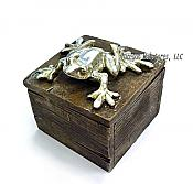 Driftwood Look Frog Box