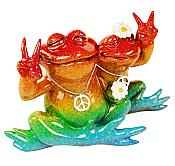 Kitty's Critters Frog: Peace, Man