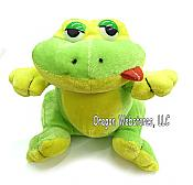 Sassy Little Plush Frog