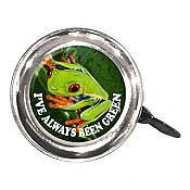 """I've Always Been Green"" Frog Bicycle Bell"