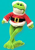 Smiling Santa Frog