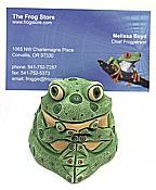 Whimsical Frog Note/Photo Holder