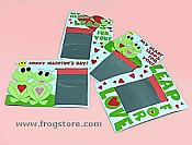 Valentine Frog Magic Pads (2doz)