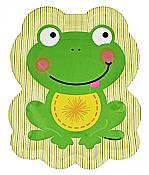 Froggy Frog Large Plates, pk/8