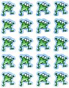 Froggies! 120 Stickers